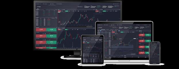 PrimeXBT on different platforms
