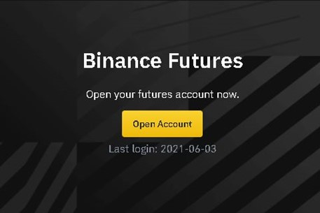 Opening a Binance Futures account