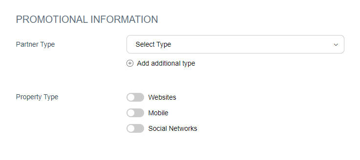 Coinbase affiliate program signup form 3